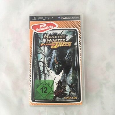 Monster Hunter Freedom Unite Sony PSP Spiel PlayStation Portable 2.2