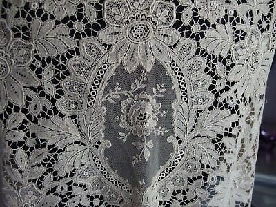 antique embroidered lace waistcoat