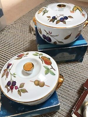 Royal Worcester Evesham Gold oven to tableware dinner service set \u0026 Dartington & ROYAL WORCESTER EVESHAM Gold oven to tableware dinner service set ...