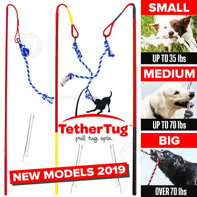 Tether-Tug-V2 Outdoor Interactive Dog Toy Tugging Pull Exercise 5 TO 70 LBS & UP