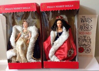 Peggy Nisbet LIMITED EDITION Queen Elysabeth and Queen Alexandra Dolls