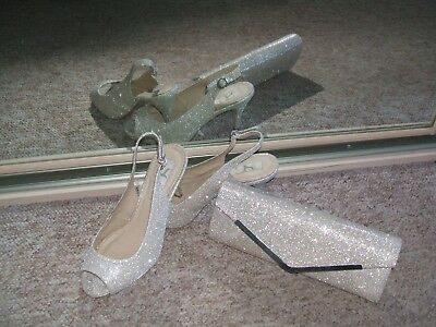 SC (BHS) ladies shoes and bag, mother of the bride, cruise, groom, formal