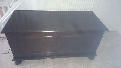 Large Victorian / Antique Bedding Box / Blanket Box / Chest/ Trunk