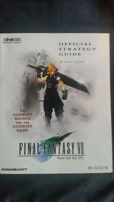 Final Fantasy VII / Lösungsbuch / Official Strategy Guide in ENGLISCH!!