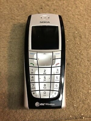 Nokia 6200 Cell Phone AT&T Old School Classic Vintage Grandma 2002