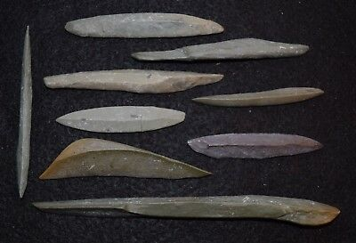 9 rare tools  - Sahara Neolithic, awls, other?