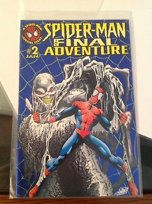 Spiderman The Final Adventure Issue 2 Mini Series 2nd Appearance Of Tendrill