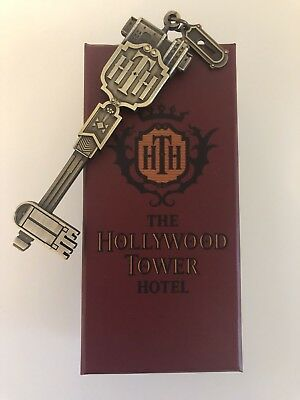 Disney land Paris / HTH Hollywood Tower of Terror Key Clef / 30.03.18 RARE + NEW