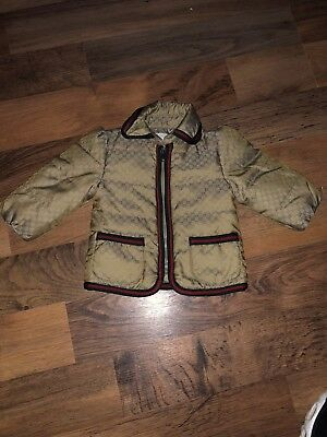 Baby Gucci Coat 3-6 months