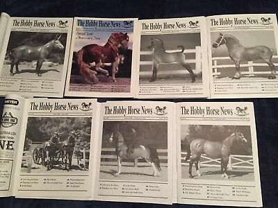 The Hobby Horse News (THHN) Magazine lot from 1998-1999 - Issues 60-66
