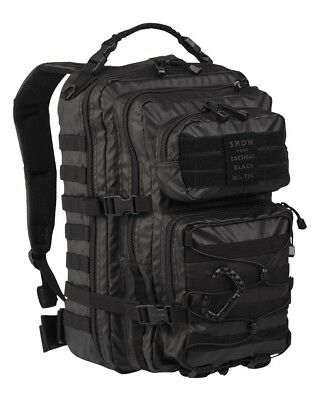 MOLLE US ASSAULT PACK LG TACTICAL BLACK Rucksack 36 Liter Kampfrucksack Trekking