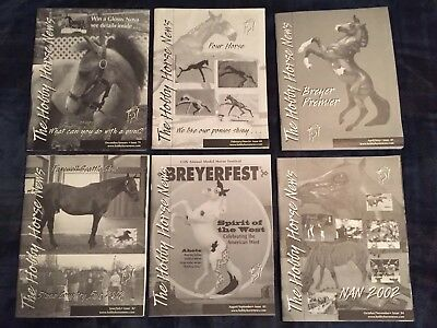 The Hobby Horse News (THHN) Magazine lot from 2002 - Issues 79-84 plus 2002 SE