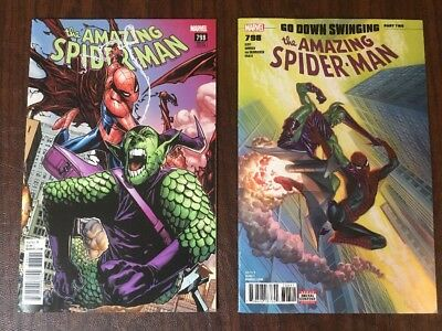 2 Amazing Spider-Man #798 - 1st Prints Alex Ross & Ramos Variant 1st Red Goblin
