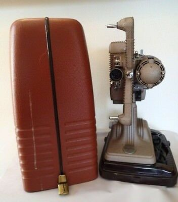 Revere 8MM silent film Projector Model P-90 with CASE