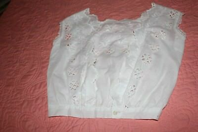 Antique Victorian Corset Cover Pristine Condition