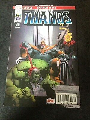 THANOS #15 - 1st Print - COSMIC GHOST RIDER - Sold Out - NM- 9.2