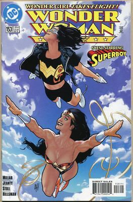 Wonder Woman (Vol. 2) #153 - NM- - Adam Hughes Cover Art