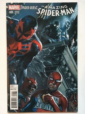 Amazing Spider-Man #9 *NM* 1:25 DELL'OTTO Variant Cover Spider-Verse