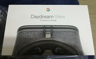 Google Daydream View VR Headset, Slate Grey NIB. Never Opened