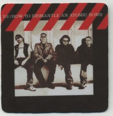 U2 Album cover COASTER -  How to Dismantle an Atomic Bomb