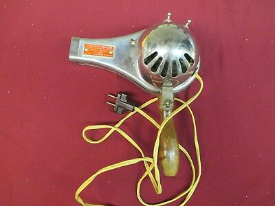 Vintage Superior Electric Products Corp. Chrome Hair Dryer No. 823