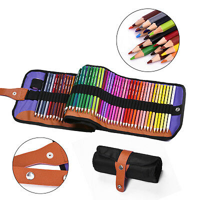 72 Colors Pencil Set Non-toxic Drawing Artist Sketching Picture With Canvas bag