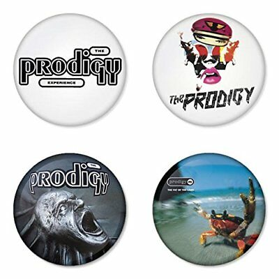 The Prodigy, D - 4 plates, pin, badge, button
