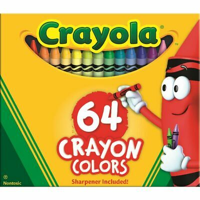Crayola Crayons Box of 64
