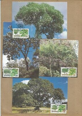 Transkei: Set of 4 FDP'cards + singles + FDC with Info Card: .(Ref 698)