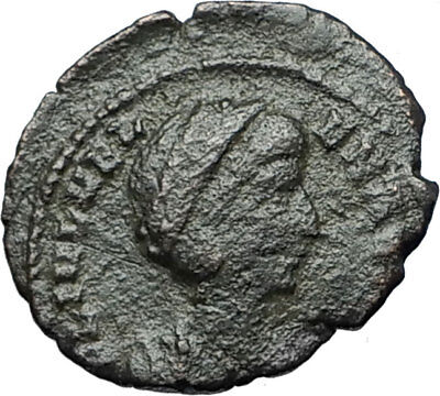 Saint HELENA - Constantine the Great Mother Authentic Ancient Roman Coin i68095
