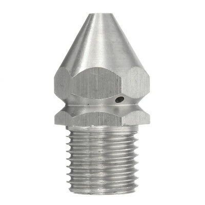 Pressure Washer Jet Wash Drain Cleaner flushing Jetter Nozzle HEAD 1/4'' BSP 045