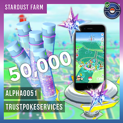 Pokemon Go 50,000 Stardust Farm All Catches by Hand No Bans No BOT
