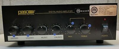 Paso DMA2015 Digital Music Amplifier for Paging and Intercom Systems
