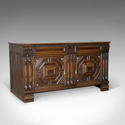 Antique Chest, French Coffer, Oak, Early 19th Century Circa 1800