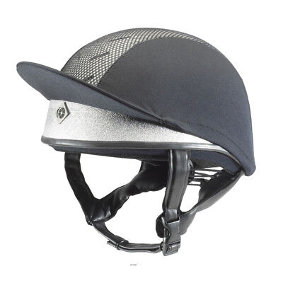 CHARLES OWEN Silver Pro II  Riding hat ASTM F1163:15 Size 5.5 Boxed
