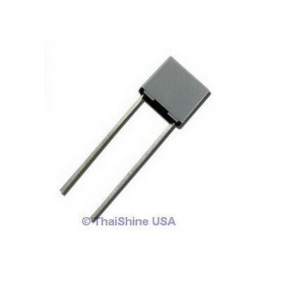 10 x 220nF 0.22uF 100V 5% Polyester Film Box Type Capacitor USA Seller Free Ship