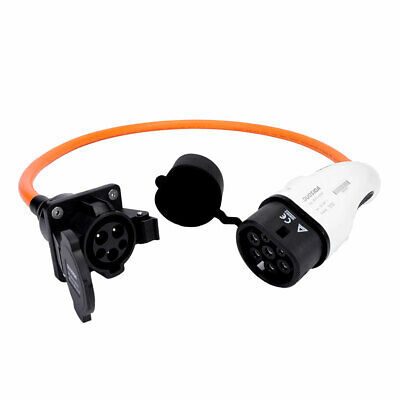 Type 1 to Type 2 EV / PHEV charging charge cable adapter adaptor 32amp converter