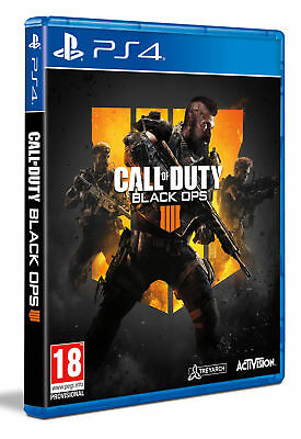 PS4 Call of Duty: Black Ops 4  PAL