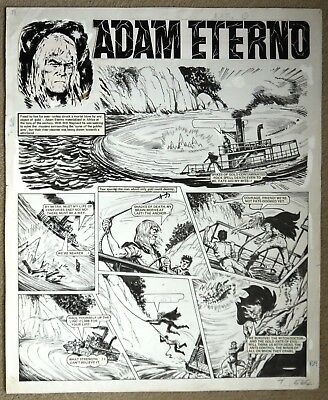 Original Comic Art of ADAM ETERNO from Valiant