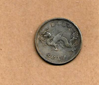 """""""OLD"""" COIN from (CHINA?)  **SILVER**?? date unknown."""