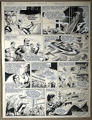 Original Comic Art of CAPTAIN CONDOR from Lion