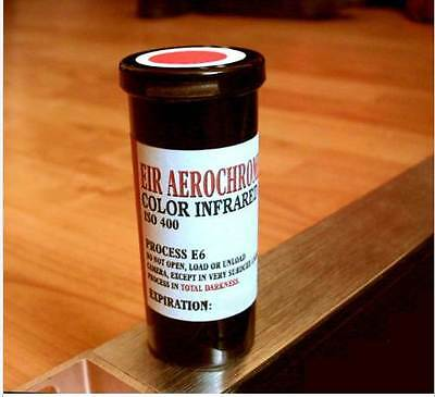 Kodak Aerochrome Color Infrared Film - 120 format