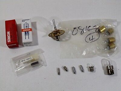 Lot of Ophthalmic Instrument Bulbs