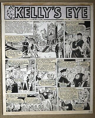 Original Comic Art of KELLY'S EYE by F. Solano Lopez from Valiant