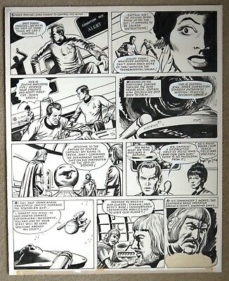 Original Comic Art of STAR TREK by John Stokes