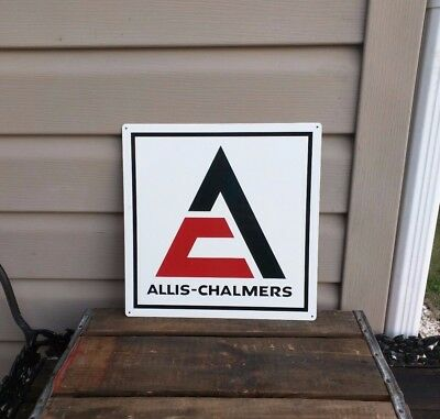 ALLIS - CHALMERS AC Metal sign Farming EQUIPMENT TRACTORS PARTS 12x12 50078