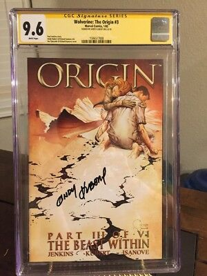 Wolverine The Origin part 3 SS CGC 9.6 NM+ Signed By Kubert MARVEL - Many CGC Up
