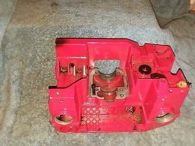 JONSERED 535 CHAINSAW crank case gas and oil tank sn0210250 used BIN1019