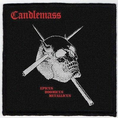 Candlemass Patch / Speed-Thrash-Black-Death Metal