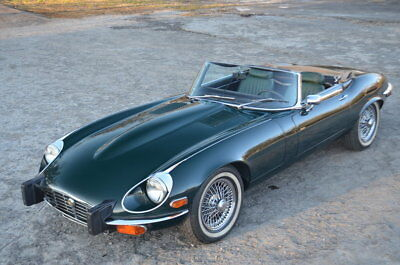 Jaguar E-Type  ONE OWNER 42000 MILE AUTO A/C WIRE WHEEL RUST FREE ACCIDENT FREE V12 E TYPE OTS